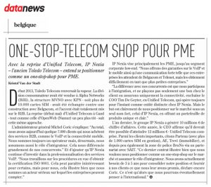 Le One-Stop-Telecom Shop pour pme – Data News